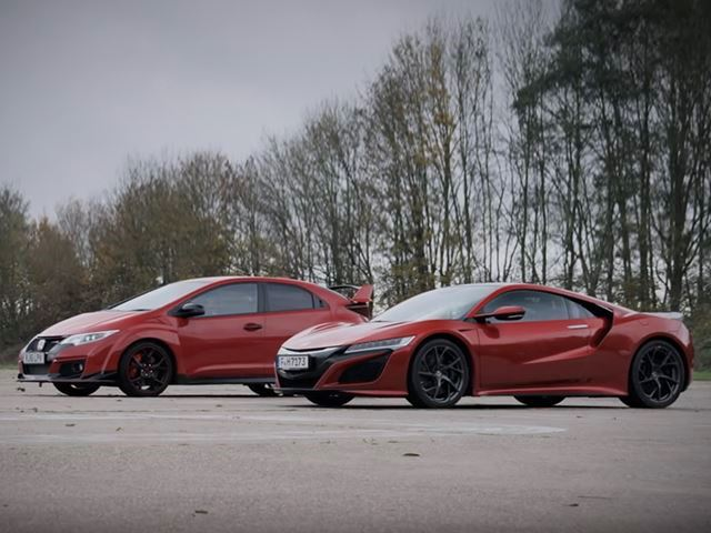 How The Hell Did The Honda NSX Lose A Race To The Civic Type R?