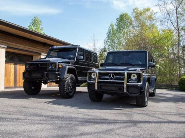This half million dollar mercedes g wagon is one of the for Mercedes benz g wagon squared