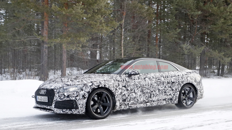 The Audi RS5 takes aim at the BMW M4 and Mercedes-AMG C63