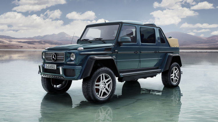 Mercedes-Maybach G650 Landaulet is the ultimate safari machine