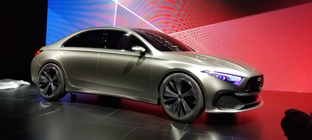 Mercedes Concept A Sedan unveiled