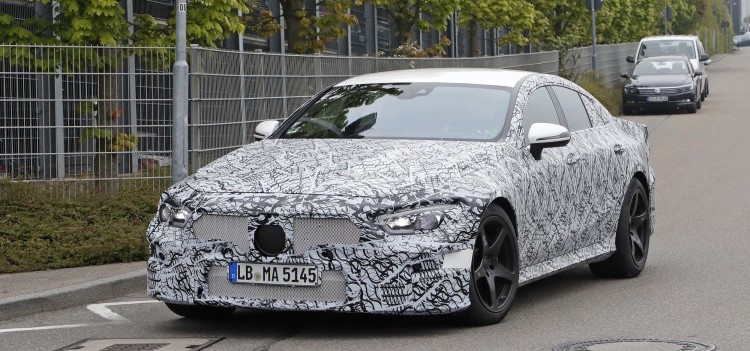 2019 Mercedes-AMG GT sedan looks formidable