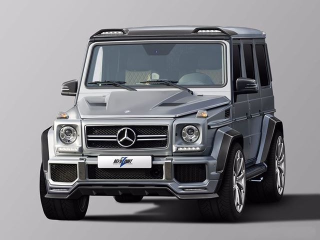 This Modified Mercedes G-Wagon Packs A Monstrous 700-HP