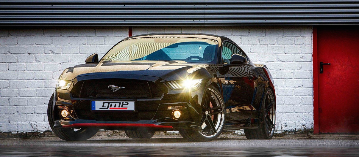 German Tuned Ford Mustang Gets 705 Supercharged Horsepower