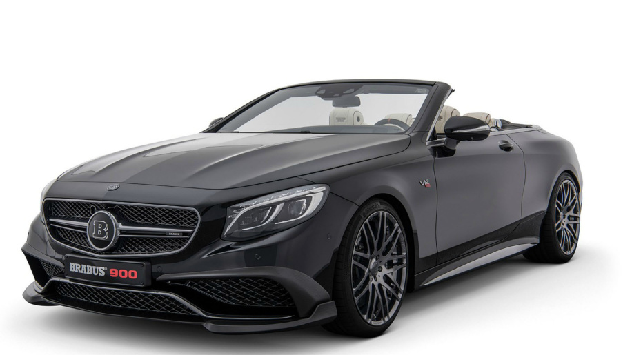 Brabus unveils a convertible fast enough to race the sun