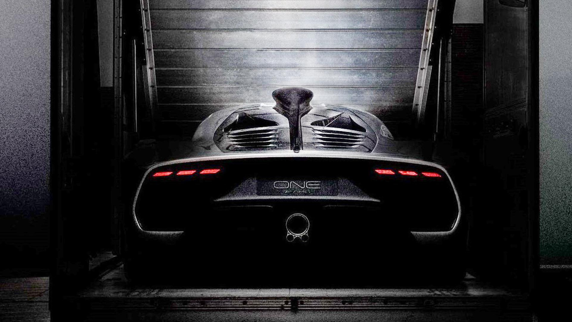 Mercedes-AMG Project One Rear Looks Absolutely Wild
