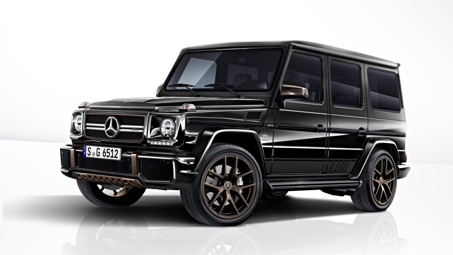 Mercedes-AMG G65 Final Edition is a black and bronze farewell