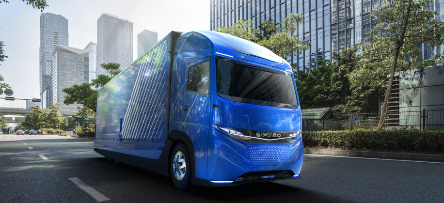 E-Fuso concept kicks off Daimler's electric plans for all trucks, buses