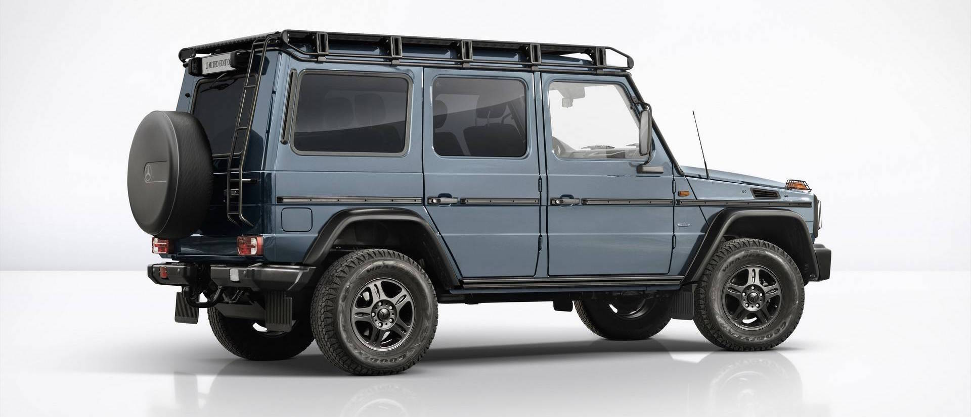 Mercedes G-Class Limited Edition Marks The W463's Imminent Demise