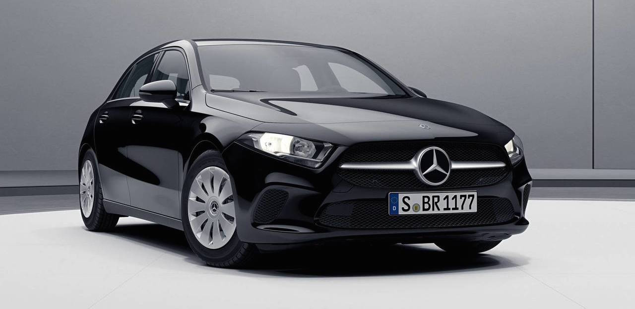 See The New Mercedes A-Class In Basic Spec; Hubcaps Included