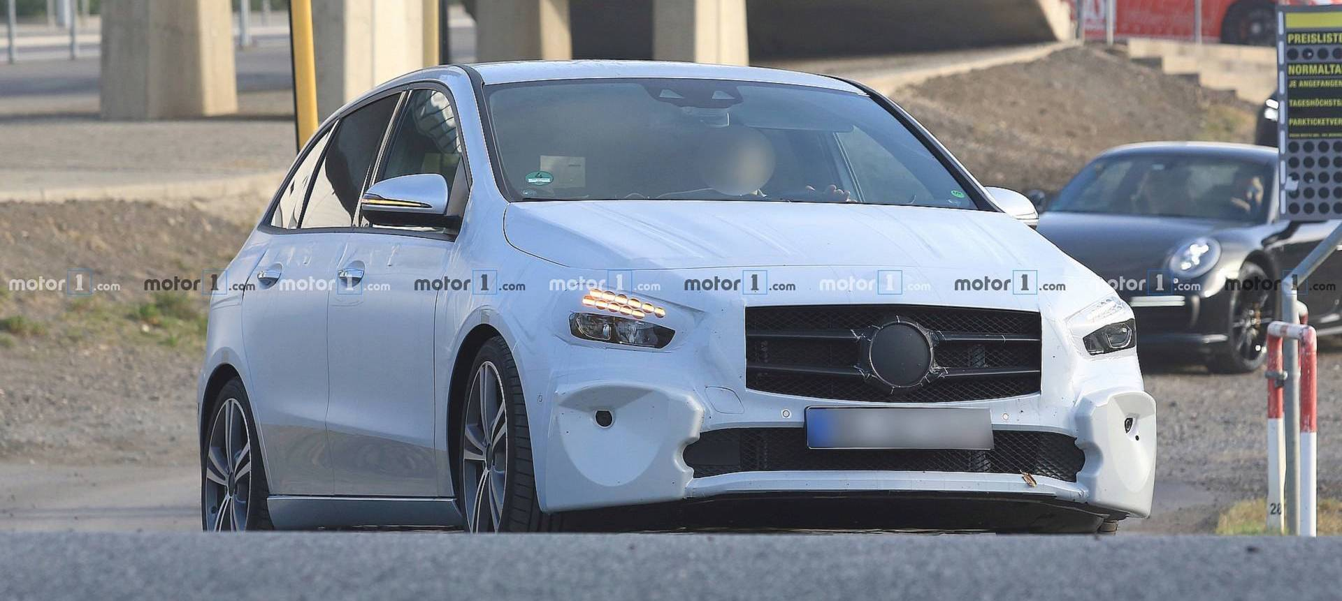 Mercedes B-Class Confirmed For Paris Show With S-Class Safety Tech