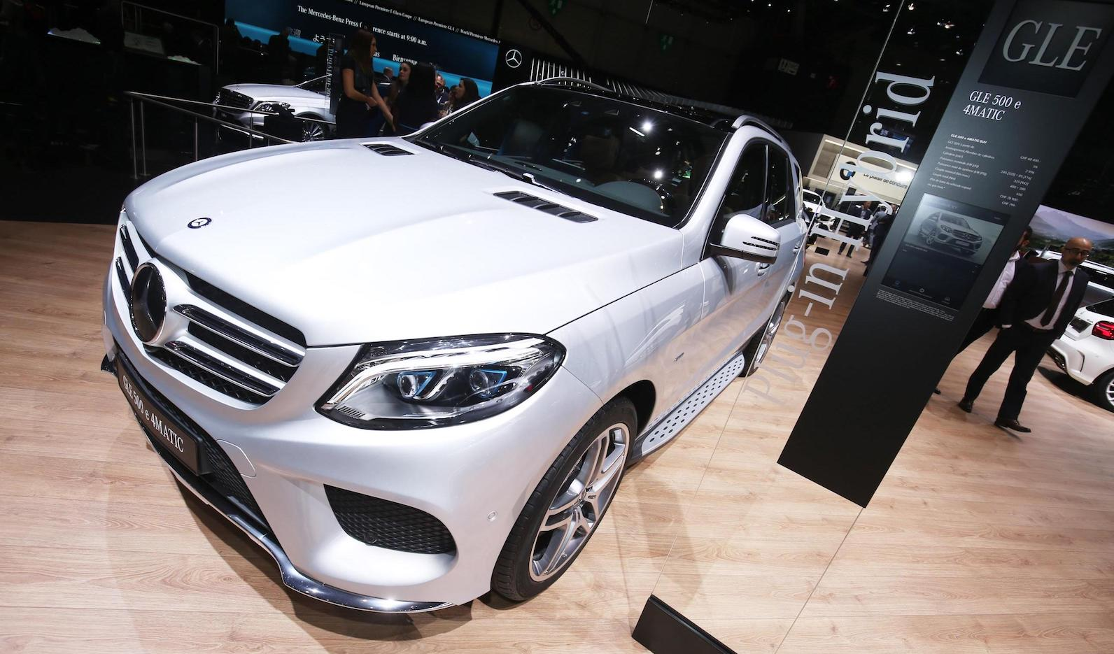 Mercedes-Benz GLE Plug-In Hybrid Expected To Go 100 Electric Km