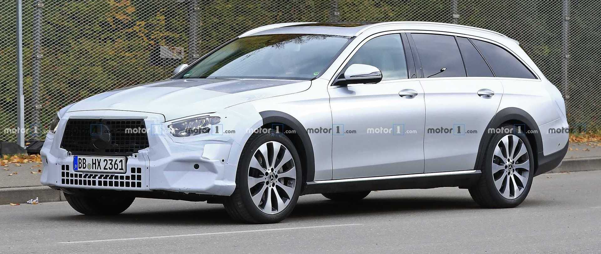 Mercedes E-Class All-Terrain Facelift Makes Spy Photo Debut