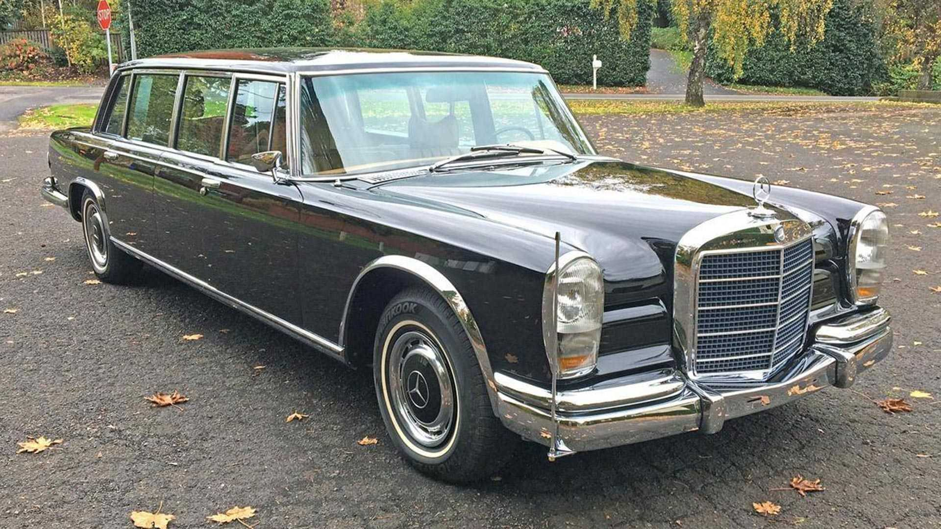 Buying A 1970 Mercedes 600 Pullman Lets You Drive Like A King