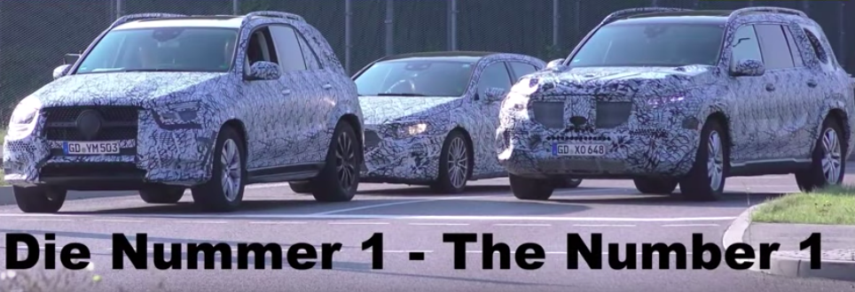 Mercedes GLC Ditches Almost All Camouflage In New Spy Video