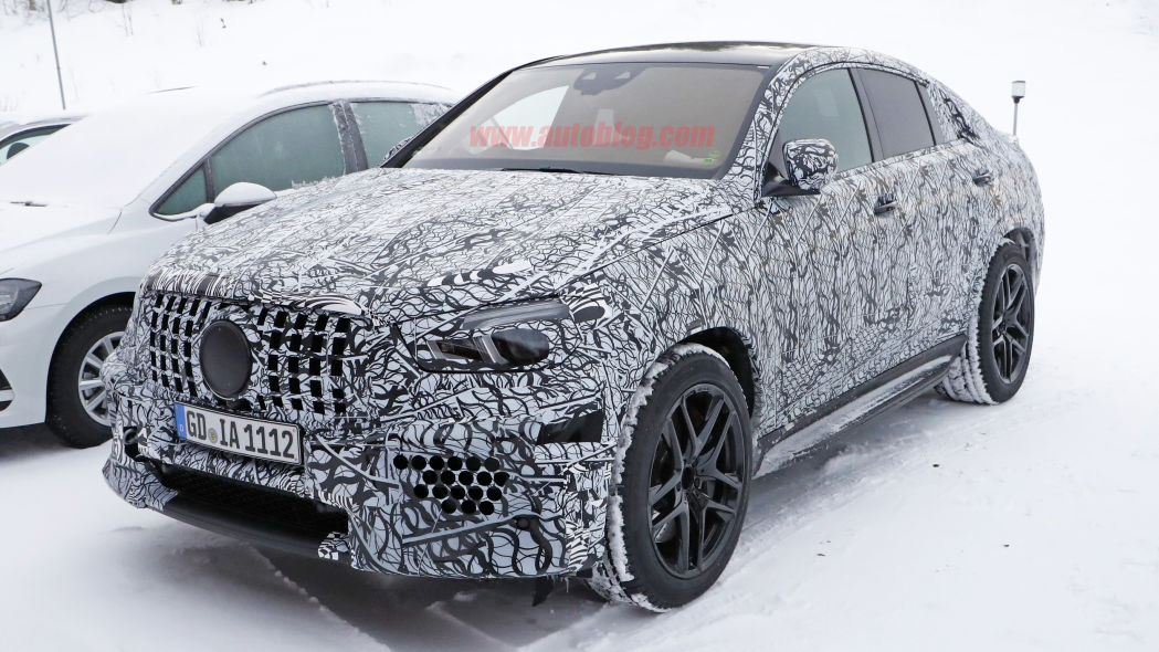 2021 Mercedes-AMG GLE 63 Coupe looks mean in new spy photos