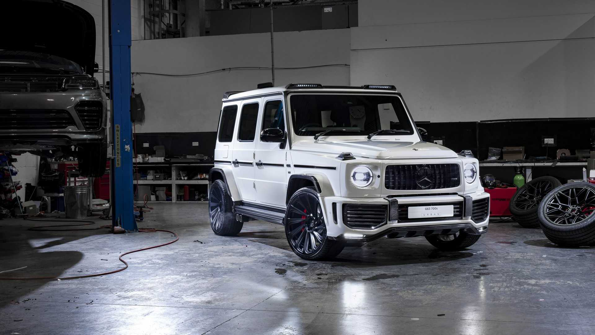 Widebody 2019 Mercedes-AMG G63 Is An Ode To Carbon Fiber