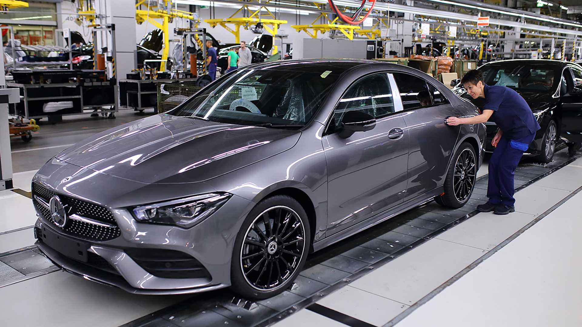 2020 Mercedes-Benz CLA-Class production starts in Hungary