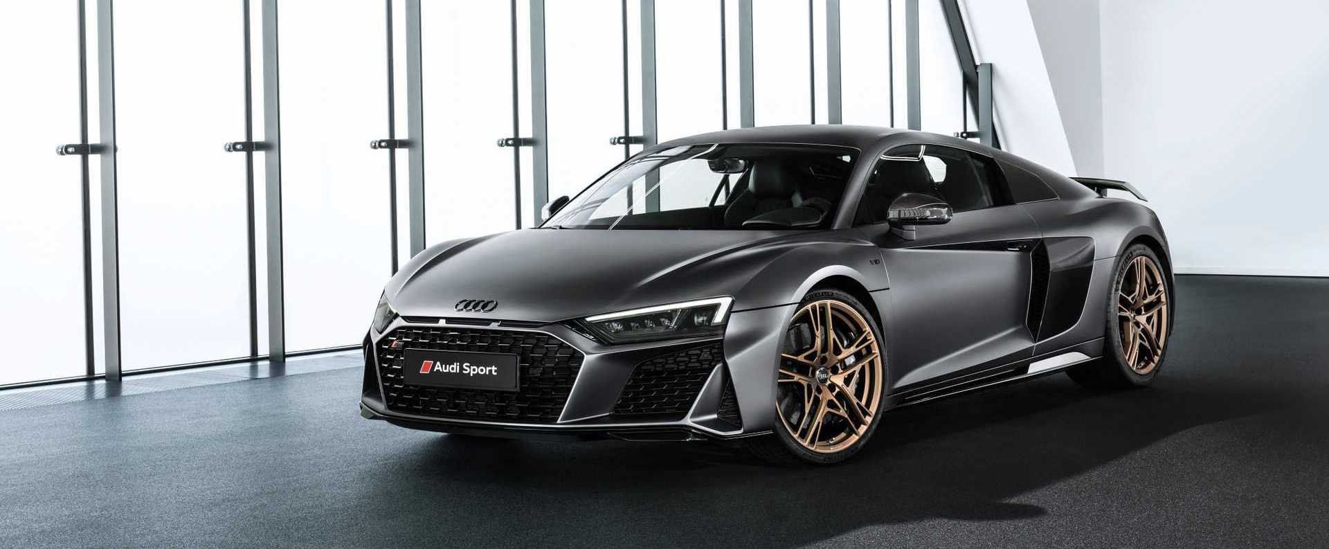 Audi R8 V10 Decennium Celebrates 10 Years Of The 5.2 FSI