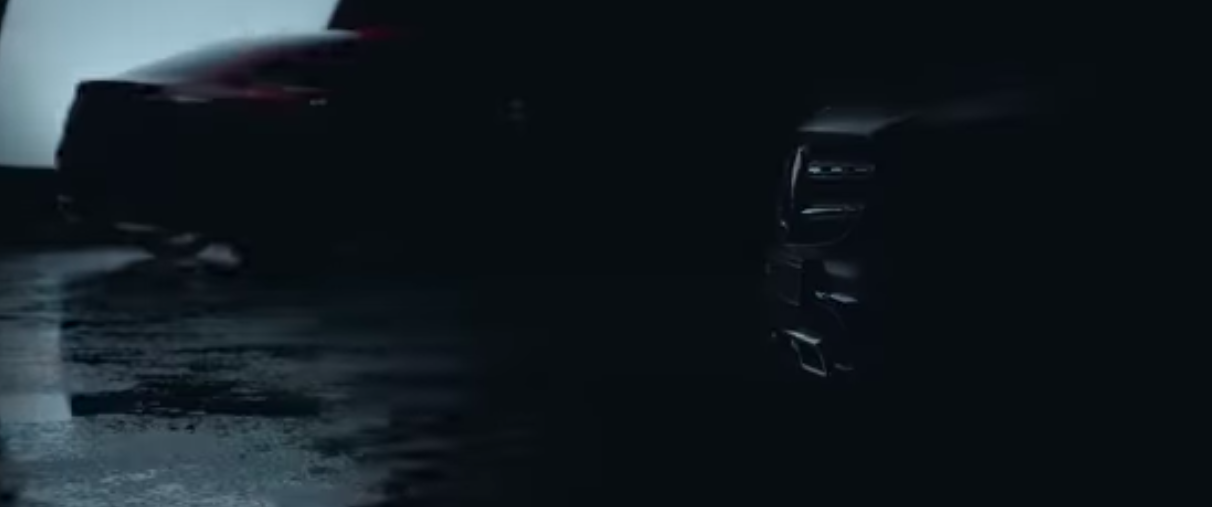 2020 Mercedes GLC Coupe Facelift Teased Again