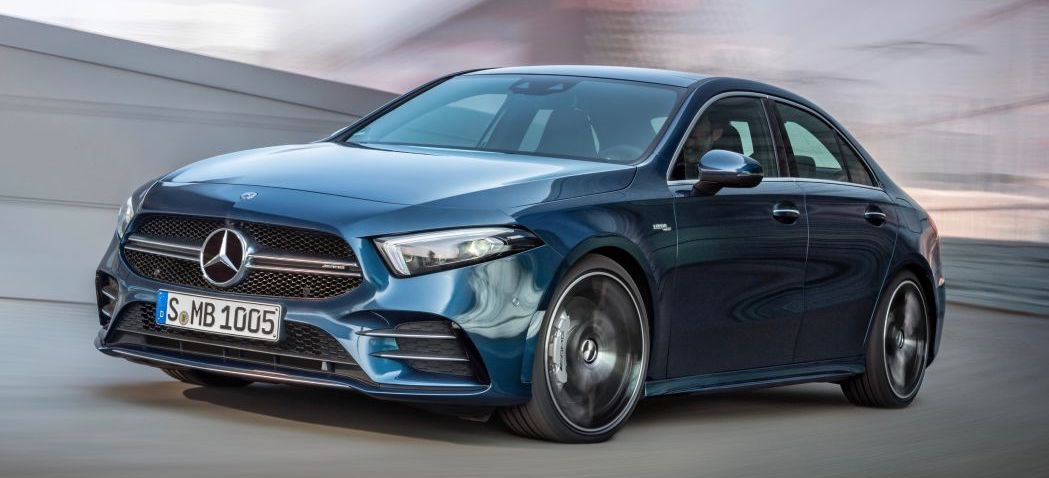 2020 Mercedes-AMG A 35 arrives with over 300 horsepower