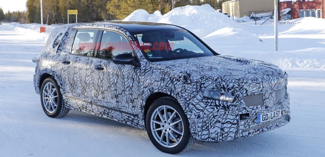 Mercedes-Benz EQB caught testing as electric GLB