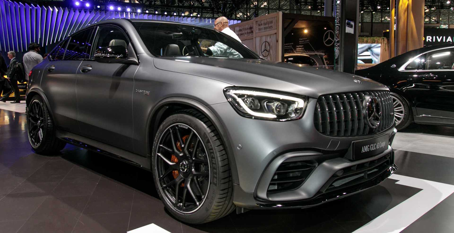 Mercedes-AMG GLC 63, 63 Coupe Introduce Their Ample Power