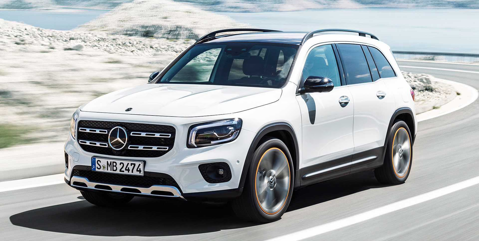 2020 Mercedes-Benz GLB-Class Debuts As Compact Seven-Seat SUV