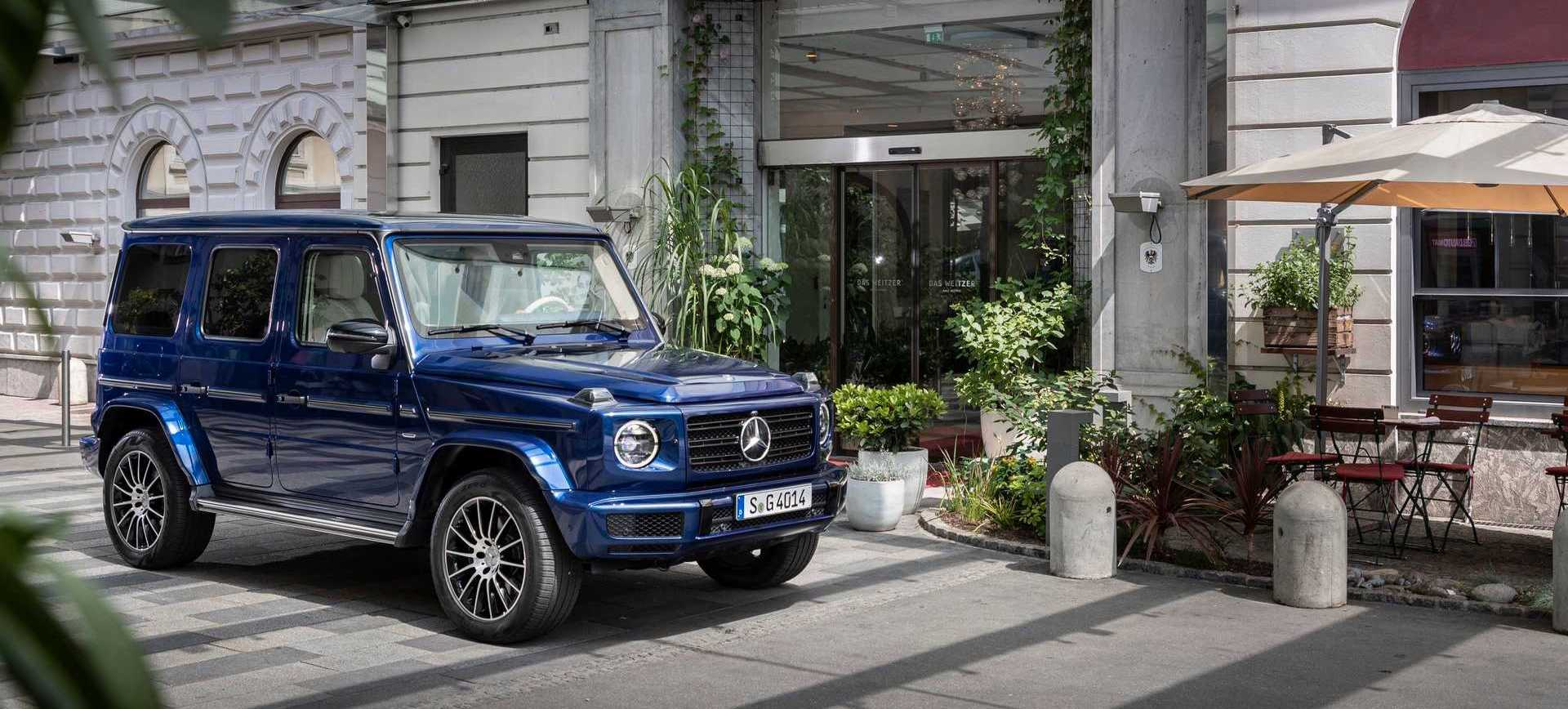 Mercedes-AMG G63 Celebrates 20th Anniversary With Cool Packages