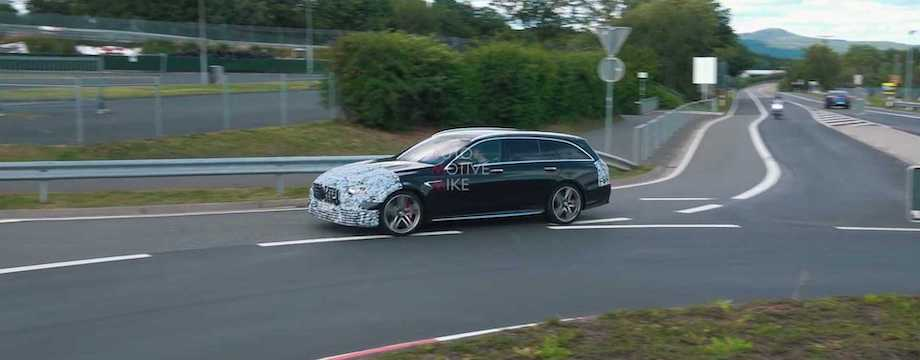 Refreshed Mercedes-AMG E63 Sedan, Wagon Spied Lapping The Nürburgring