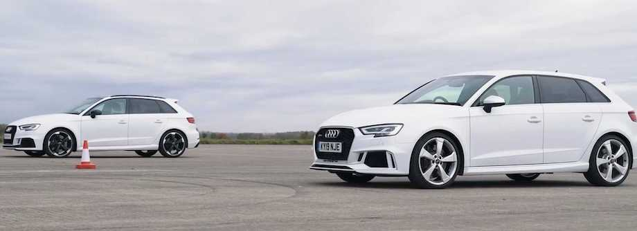 Audi RS3 Drag Races Its Predecessor: Are Eco Norms Ruining The Fun?