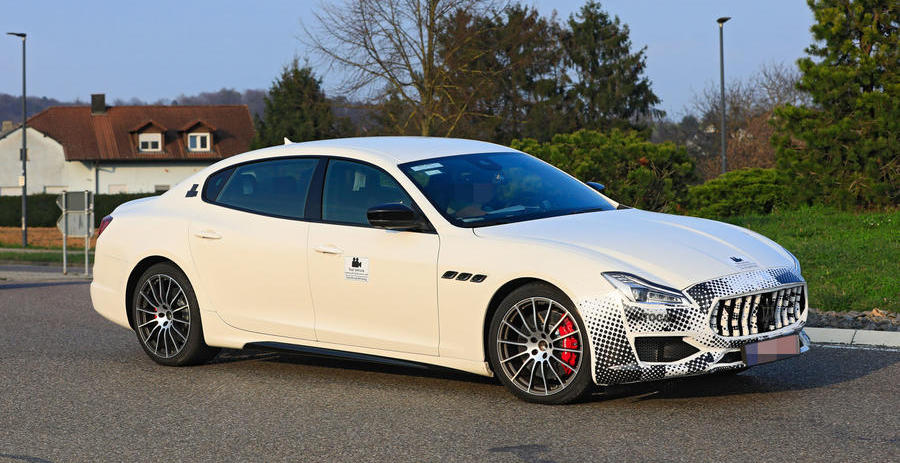 Updated 2021 Maserati Quattroporte to gain plug-in hybrid option