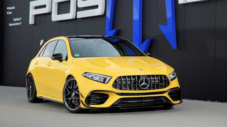 Tuner Builds Mercedes-AMG A45 S That Will Do 201 MPH