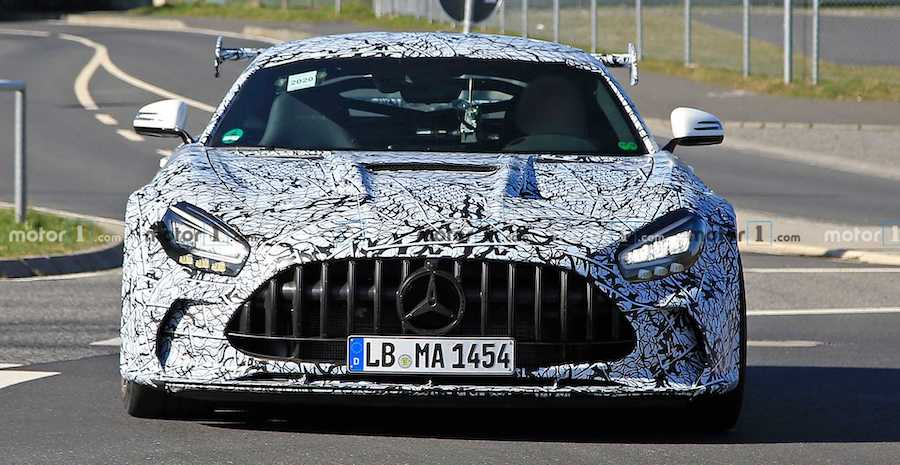Mercedes-AMG GT Black Series Debuts In July: Report