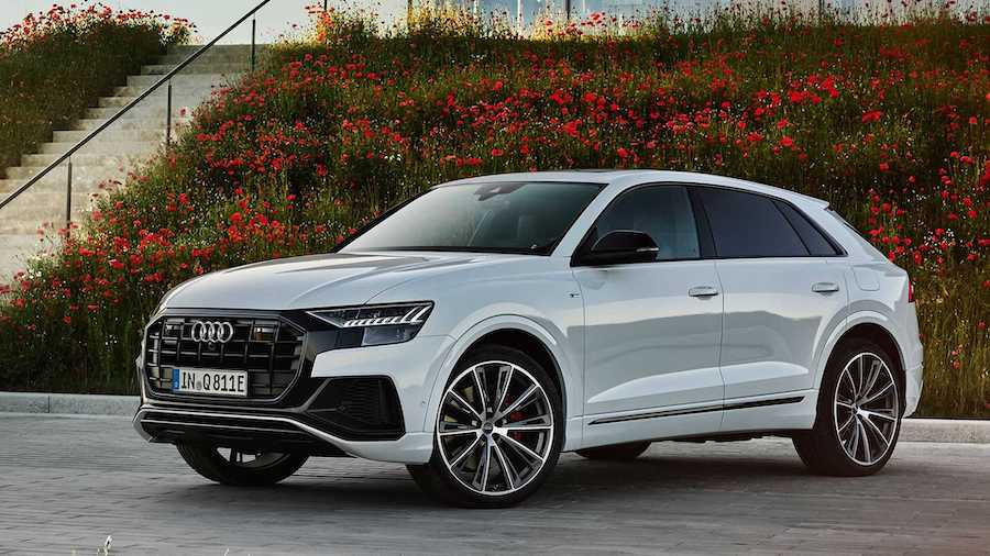 Audi Q8 TFSI E Quattro Unveiled With Up To Electrified 482 Horses