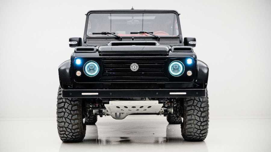 Ares unveils limited-run Land Rover Defender V8 upgrade