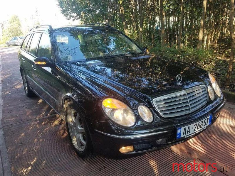 2004 39 mercedes benz e 220 for sale 4 200 etjonis tirane albania. Black Bedroom Furniture Sets. Home Design Ideas