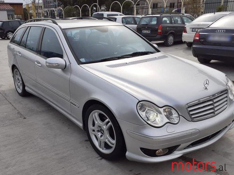 2006 Mercedes-Benz C 220 in Tirane, Albania
