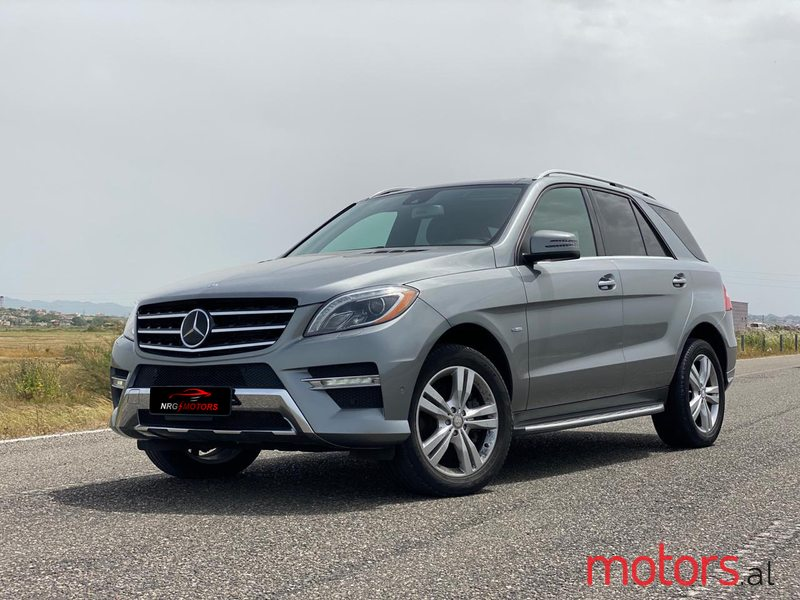 2012 Mercedes-Benz ML 350 in Durres, Albania