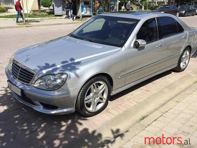 2005 Mercedes-Benz S 55 in Tirane, Albania