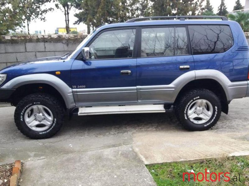 2000' Toyota Land Crusier for sale - €8,300. Klodian ...