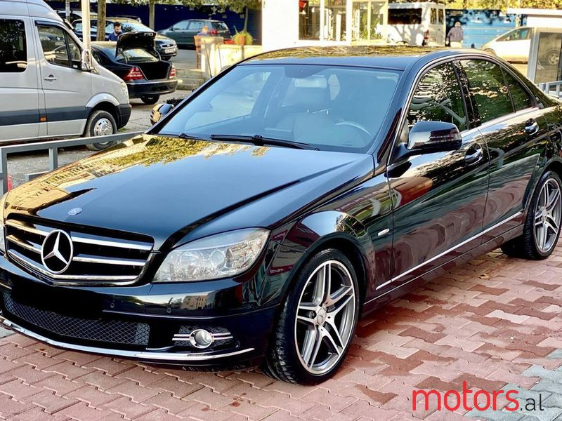 2009 Mercedes-Benz C 200 in Tirane, Albania
