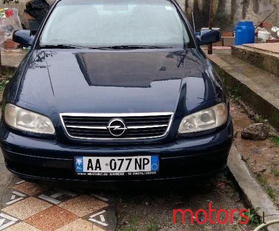 2001 Opel Omega For Sale Price Is Negotiable Edison Tirane Albania