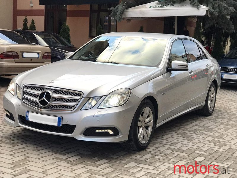 2010 Mercedes-Benz E 220 in Pogradec, Albania