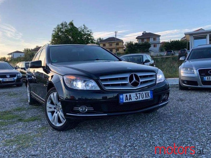 2008 Mercedes-Benz C 200 in Tirane, Albania