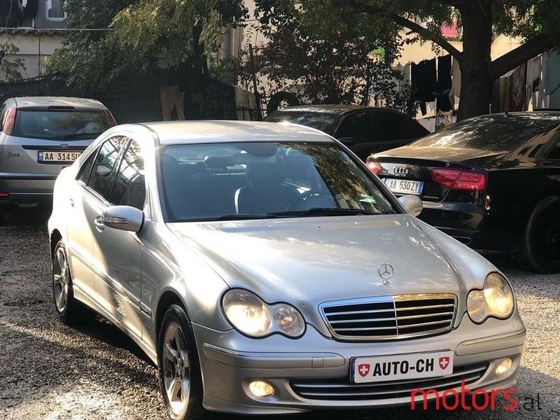 2005 Mercedes-Benz C 200 in Tirane, Albania