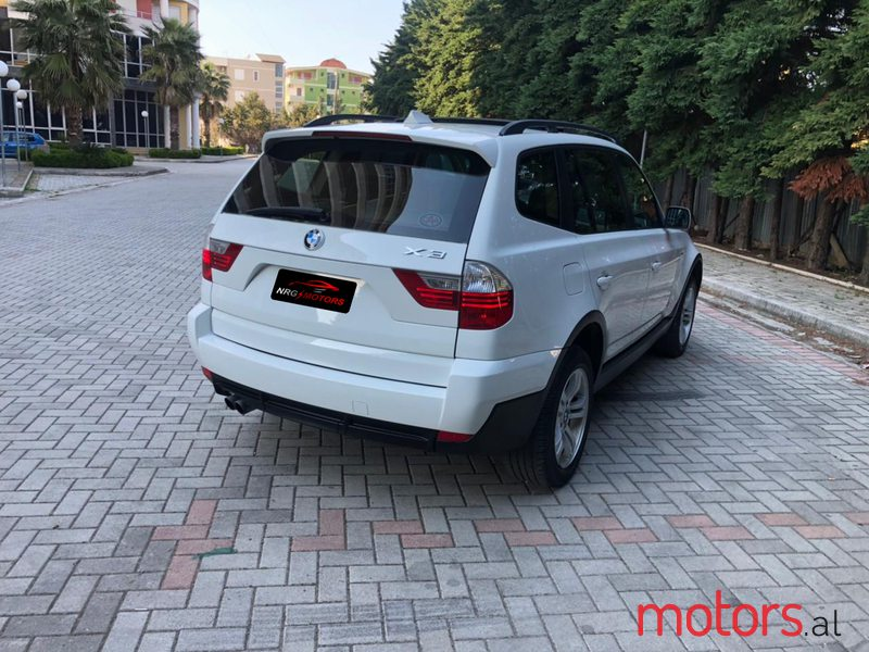 2008 BMW X3 in Durres, Albania - 2