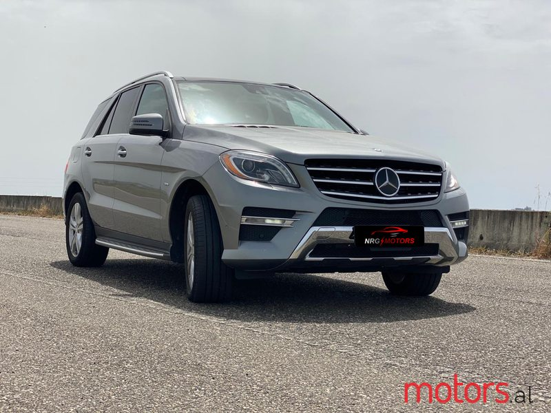 2012 Mercedes-Benz ML 350 in Durres, Albania - 2
