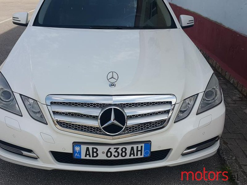2013 Mercedes-Benz E 200 in Tirane, Albania - 2